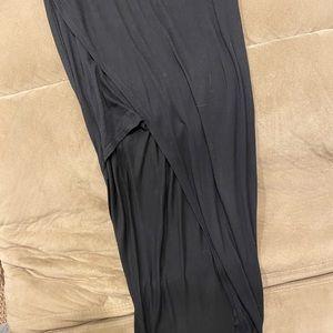 Express high low skirt